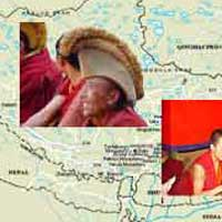Remote viewing Tibetan monks